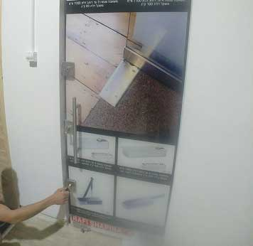 תיקון דלת זכוכית